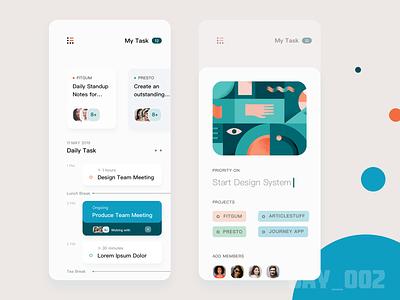 UI 100 day challenge exercise-002 ui design app