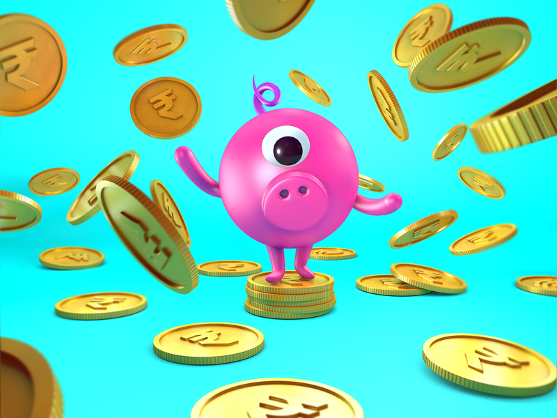 Piggy Bank 🐷🏦