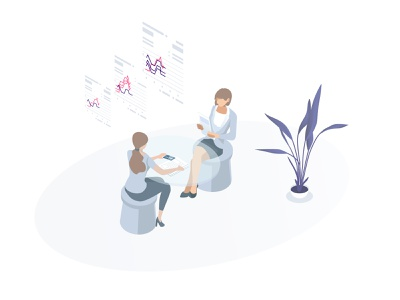 People and graphics brainstorming teamwork creativity people illustration businesswoman office worker