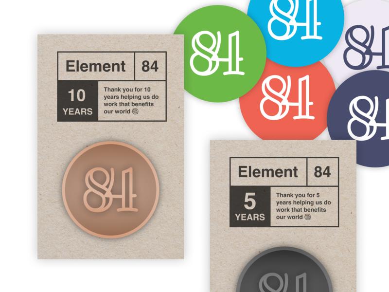 Pin and Helmet Sticker Concept sticker badge e84 10th pin