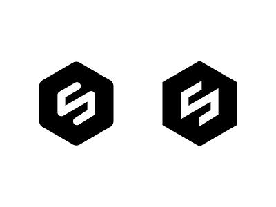 Siarto Identity Mark identity icon branding black s mark logo