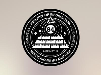 Badge Concept badge pyramid seal logo stamp
