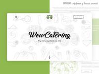 WowCatering website