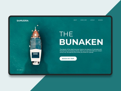 The Bunaken Web Design