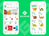 Grocery App Screen