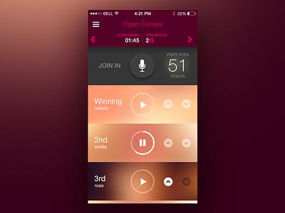 WIP App Concept ui app ios iphone