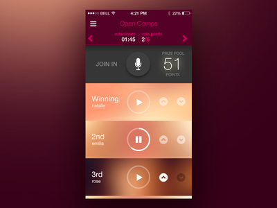 WIP App Concept ui app ios iphone