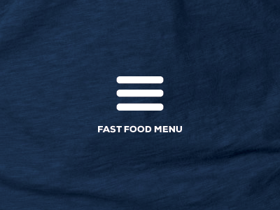 Fast Food Menu ui icon joke