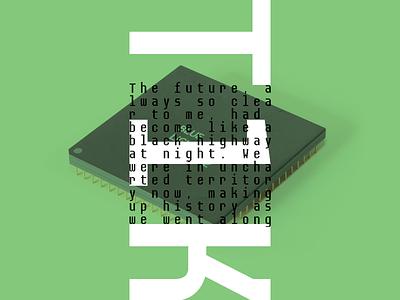 T1K Poster typography poster print monospace