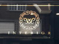 Llinterior monogram gold
