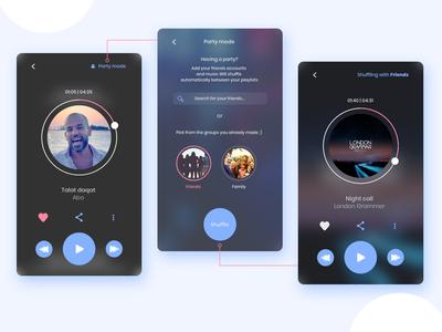 DailyUI 009 - Music app