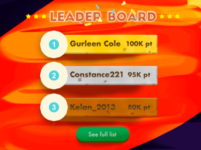 Day 019 - Leaderboard