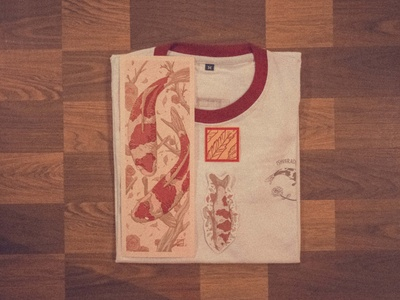 koi t-shirt package.
