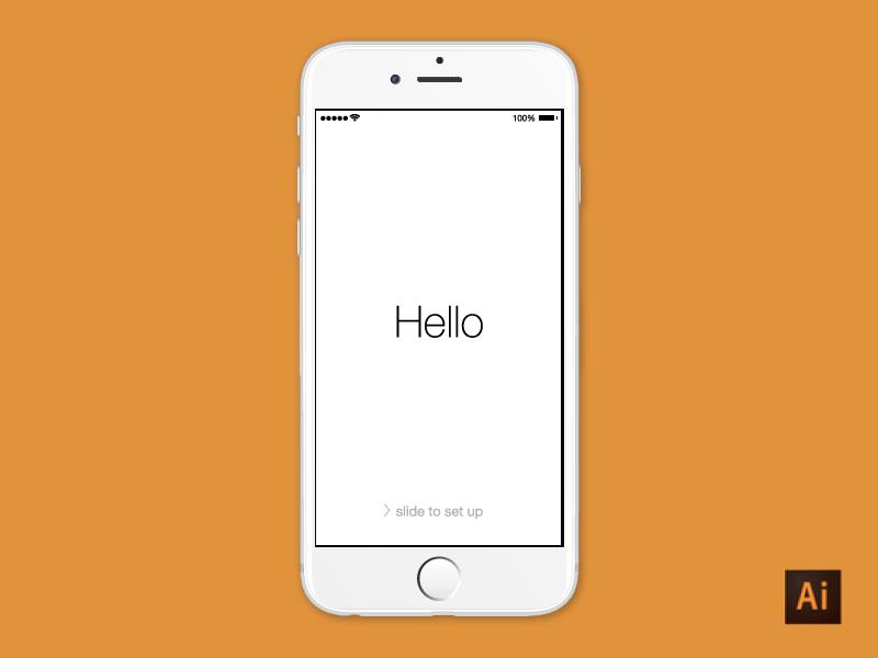 iPhone 6 - Illustrator Download by Dave Stadler - Dribbble