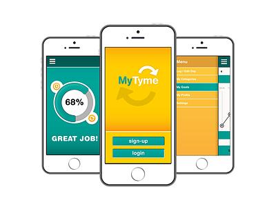 MyTyme - Mobile Application ux ui mobile application