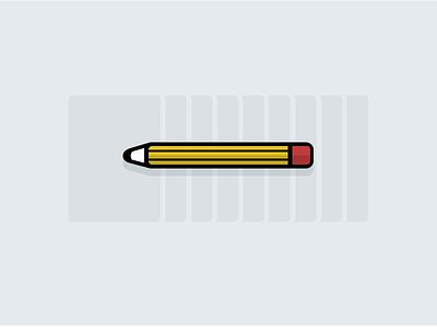Wireframing - Blog Post Illustration illustration vector