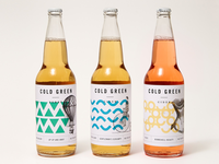 Cold Green Cider packaging