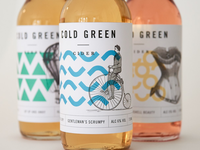 Cold Green Cider packaging details
