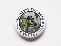 Bath Distillery Pin Badge