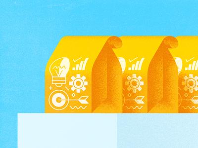 Takeaways illustration takeaway target light grain swag bags
