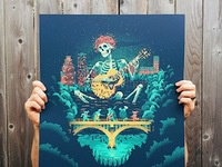 Dead and Company Poster - Austin by Shawn Ryan on Dribbble
