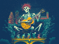 Dead and Company Poster - Austin