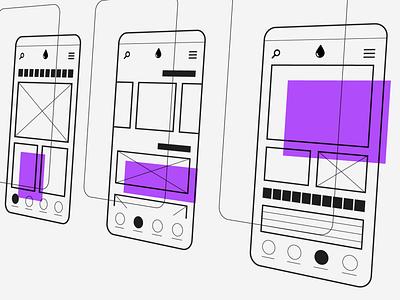 Fundamentals of Layout in Interface Design (UI) illustration ux design ui