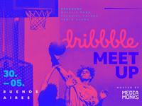 Dribbble Meet up banner
