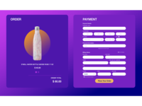 Credit Card Checkout Page Design