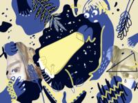 Digital Art - Self Blinded