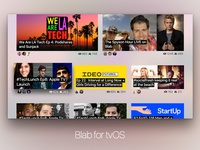Blab For tvOS Feed