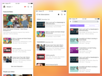 Blab iOS App - Stream, Subscriptions, Search Updates
