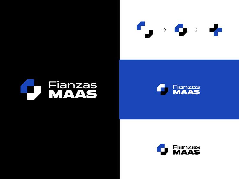 Fianzas Maas | Branding logotipo identity design branding logo