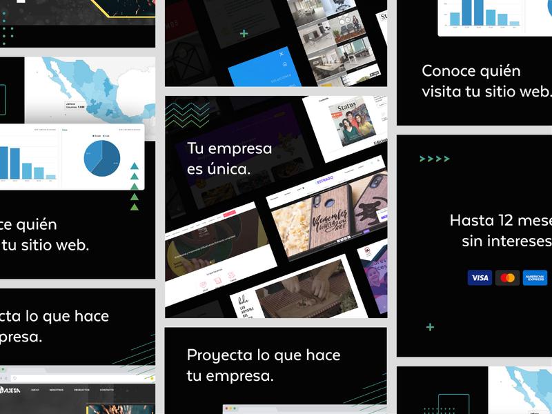 Upgrade 2020 Web Design | Ads identity logo ux app web ui design identidad branding campaign advertising ads