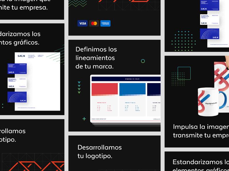 Upgrade 2020 Branding | Ads identidad logotipo campaign ads branding design app web ui identity logo design branding