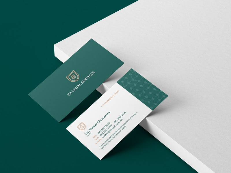 EA Legal Services | Branding (2) business card vector mockup identidad logotipo identity logo branding design