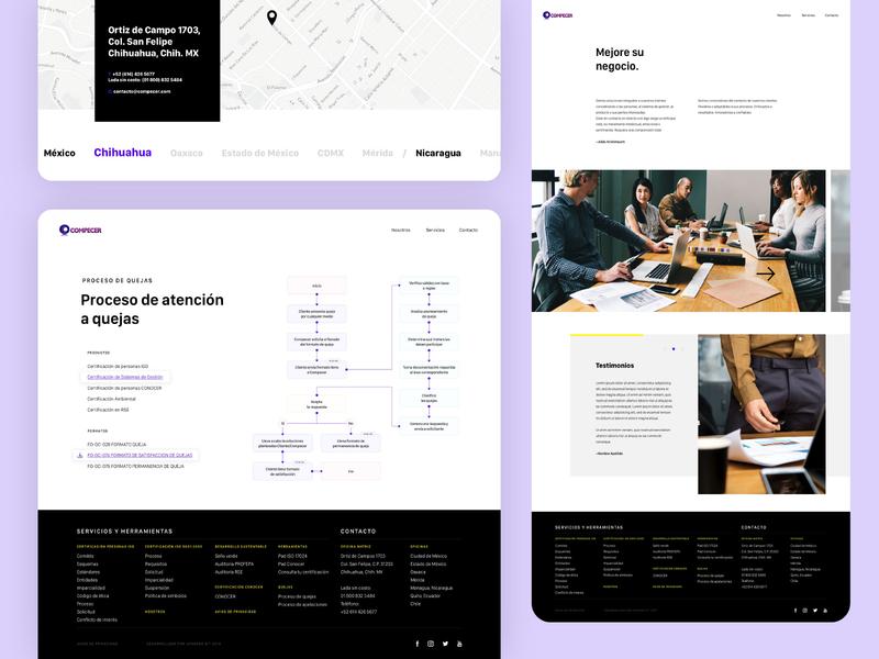 Compecer | Website (2) website design website web ui design