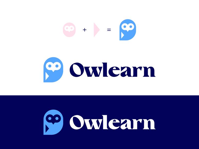Owlearn | Logo concept identidad identity logotipo design branding logo