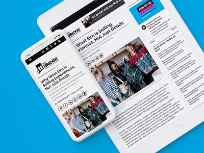 The Bridge community art politics gentrification startups journalism publishing news business brooklyn