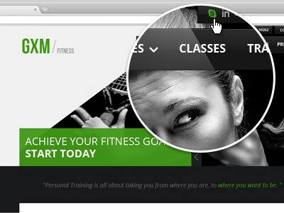 Gxm responsive gym fitness club html template