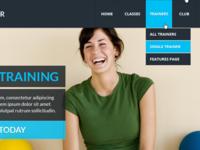 GYM - Fitness Center Website