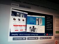 Simplify - eBook Instapage Landing Page Templates