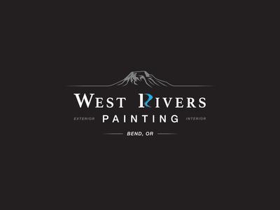 West Rivers Painting T-Shirt Design