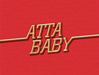 """Atta Baby"" gold type"
