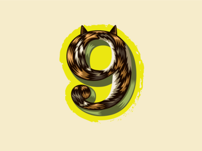 36 Days of Type — 9 for 9 Lives