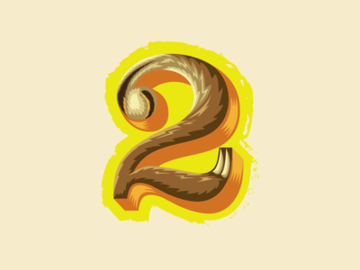 36 Days of Type — 2 for 2-toed sloth 🦥