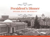 OSU President's Dinner 2017