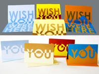 'Wish You Were Here' Cards
