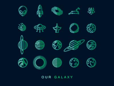 Galaxy Icons