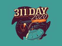 Custom 311 Day Shirt Design